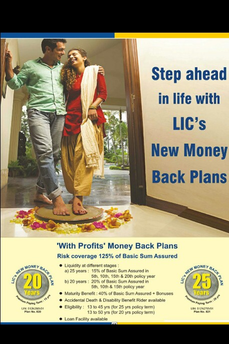 LIC's New Money Back Plans